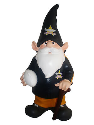 North Queensland Cowboys NRL Trackie Garden Gnome With Walking Cane