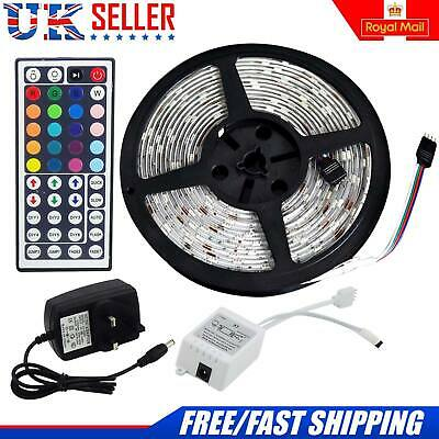 10M 5050 Rgb 30 Led Strip Lights Colour Changing Flexbile Tape Lighting 12V