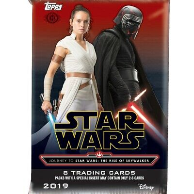 Journey to Star Wars The Rise of Skywalker Card Hobby Box (Topps 2019) Sealed