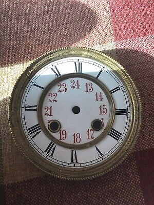 antique clock Wall Clock Dial Vienna Spares