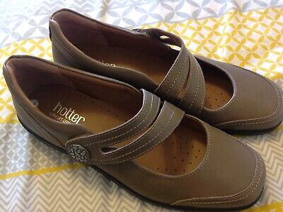 Hotter Melissa Comfort Concept Ladies Taupe size 9