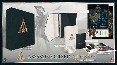 Assassin's Creed Odyssey: Official Ultimate Platinum Ed. Guide NEW & SEALED