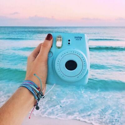 FUJIFILM Instax Mini 9 Instant Film Camera - ICE BLUE