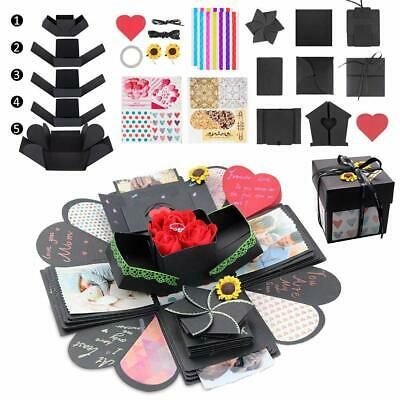 Explosion Gift DIY Surprise Photo Box Creative Scrapbook Album MEMORIES OF LOVE
