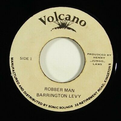 "Barrington Levy ""Robber Man"" Reggae 45 Volcano mp3"