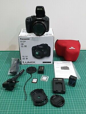 Panasonic LUMIX DC-FZ82 Bridge Camera 18MP 60x Zoom 4K Video + Extras