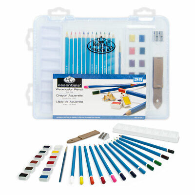 Royal & Langnickel Essentials Clear View Watercolour Drawing Art Set
