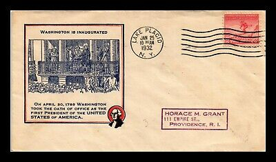 Dr Jim Stamps Us Olympic Skier Fdc Washington Inauguration Cover Scott 716