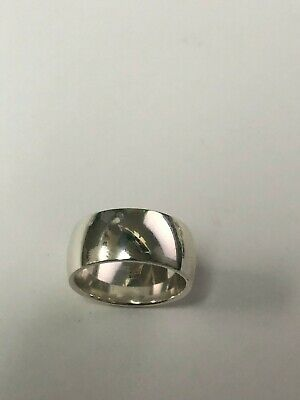 James Avery Sterling Silver 11mm Wide Band, Size 6.25