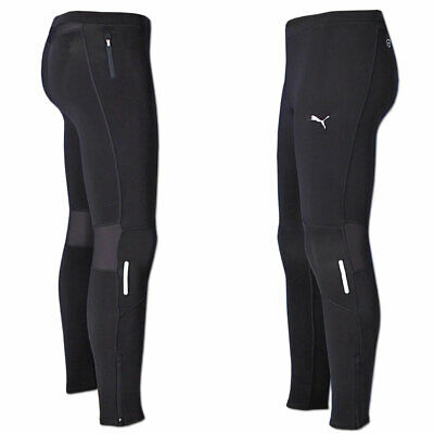 Puma Herren Pure Core Winter Long Tight Running Laufhose schwarz warm Gr.S