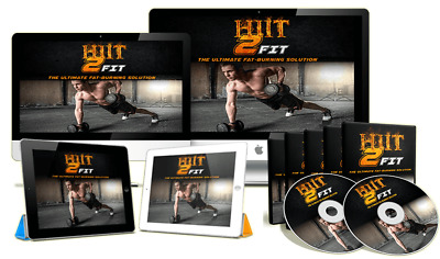 HIIT 2 FIT Video (ebook-pdf plr file) Can be sold