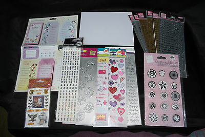 New Packs Large Selection of Stickers for Arts and Crafts and Card Making