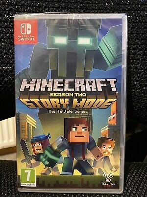 Minecraft Story Mode - Season 2 (Nintendo Switch) New Sealed UK Version