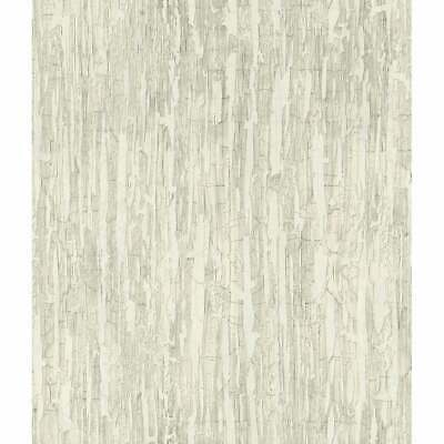 Weathered Paint Wallpaper, 20.5 in. x 33 ft. = 56 sq.ft Grey