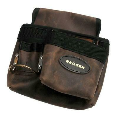 Single Pocket Leather Professional Hammer Nail Tool Belt Pouch Toolbelt