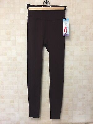 Spanx Leggings. Assets Red Hot Label By Spanx. NWT. Burgundy. Size M (UK 12/14)