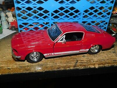MAISTO 1:24 N//B 1967 FORD MUSTANG GT DIE-CAST GRAY 34260