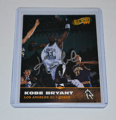 Kobe Bryant All Sport Ppf Rookie Hand Signed 1996 Score Board Lower Merion