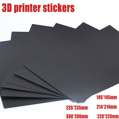 3D Printer Heat Hot Bed Sticker Flexible Platform Build Plate Tape Non-Magnetic
