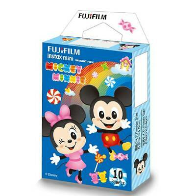 2018-06 Fujifilm Instax Micky&Minnie 10 Sheets for 7s 8 8+ 9 25 50s 70 90 300