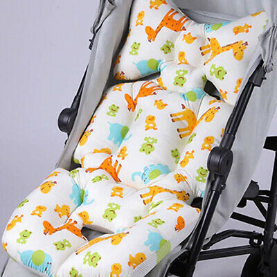 Baby Stroller Cotton Cushion Seat Cover Mat Soft Car Pad Pushchair Urine Pad
