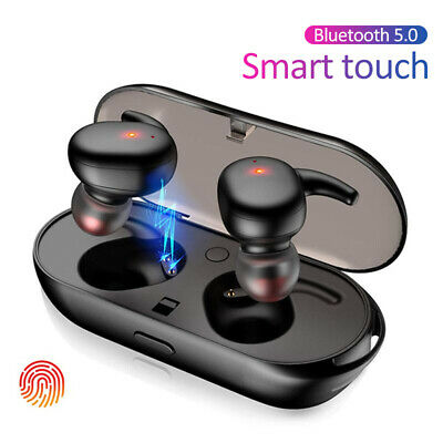 USA Bluetooth 5.0 Earbuds Wireless Headphones Earphones For iphone Android TWS4#