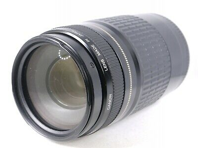 【AS IS】 Canon EF 75-300mm F/4-5.6 USM Zoom Lens From Japan