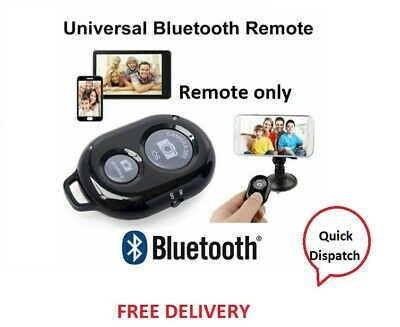 Wireless Bluetooth Remote Shutter Selfie Control For Camera Android IOS Phones