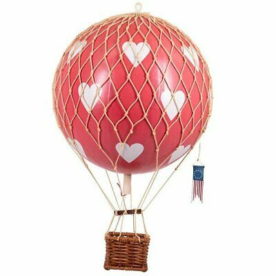 Authentic Models Ballon Floating The Skies Red Hearts (32cm)