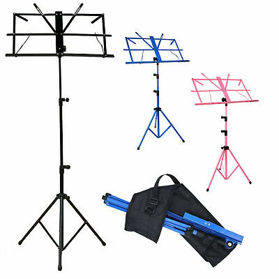 Heavy Duty Foldable Music Stand  Base Tripod Orchestral Conductor Sheet / Holder