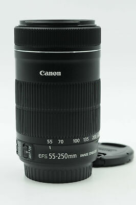 Canon EF-S 55-250mm f4-5.6 IS STM Lens 55-250/4-5.6                         #508