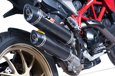 QD Magnum Twin Exhausts Ducati Hypermotard 939 / SP 2016-19