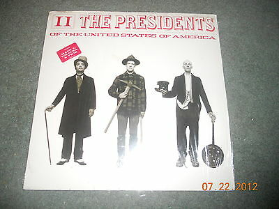 Presidents Of The United States Of America - II LP vinyl NEW sealed RARE record