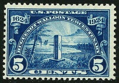 Dr Jim Stamps Us Scott 616 5C Huguenot Walloon Unused Og Nh No Reserve