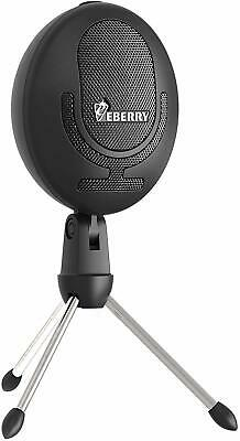 USB Microphone for Computer Condenser Mic for PC Windows/Mac Desktop Laptop