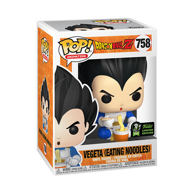 Funko Pop! ECCC 2020 Vegeta (Eating Noodles) Shared Exclusive Pre-Order