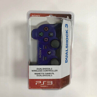 For PS3 Playstation 3 Wireless Dualshock Bluetooth Gamepad Controller Blue