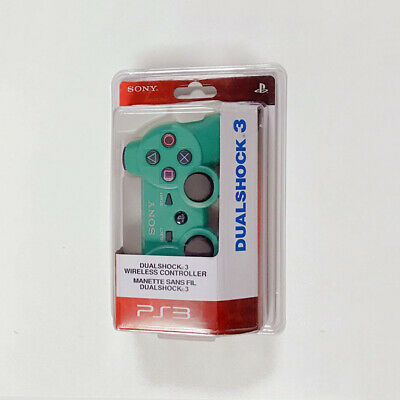For Green PS3 Playstation 3 Wireless Dualshock Bluetooth Gamepad Controller