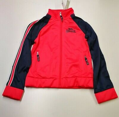 Lonsdale Girls Tracksuit, Size 9-10Y, Pink/Navy, New With Tags