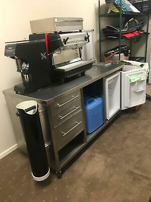 Portable Coffee Cart with Coffee Macine & Grinder Ready to go!