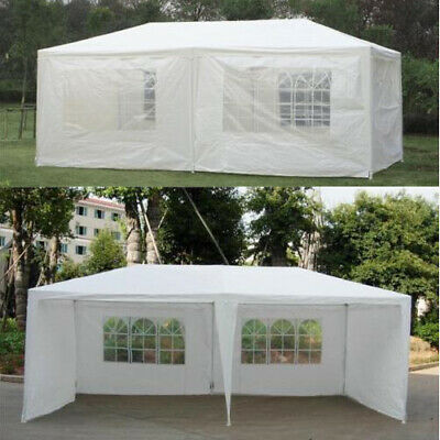 Office Garden Gazebo Tent Marquee Outdoor Waterproof Party Awning Canopy Closed