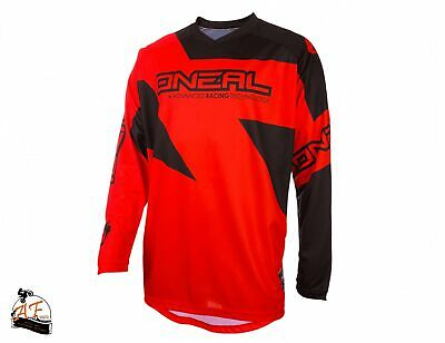 Maglia O'Neal Cross MX Matrix Adult Ridewear Red 2020
