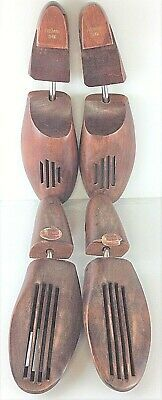 Vintage Rochester Shoe Tree Co Mens X Large Wooden Shoe Stretchers Freeman Shoes