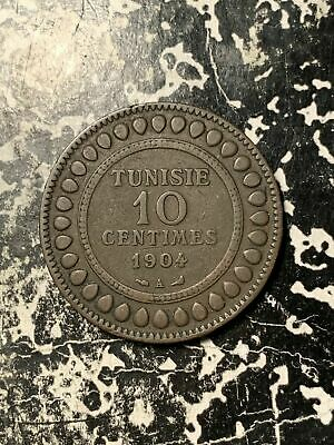 1904-A Tunisia 10 Centimes Lot#Q2858