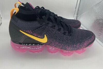 DS NIKE AIR VAPORMAX 2 GRIDIRON PINK BLAST MEN's Sz 11 LASER ORANGE 942842-008