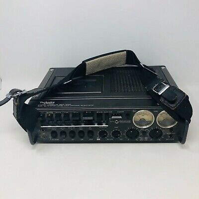 Technics 6460 RS-646DS Stereo Cassette Tape Deck W/ Leather Carrying Case Strap