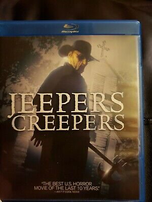 Jeepers Creepers (Blu-ray Disc, 2012) **LIKE NEW** Justin Long and Gina Philips