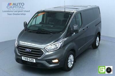 2019 Ford Transit Custom 2.0 300 LIMITED L1 H1 130 BHP EURO 6 ENGINE PANEL VAN D