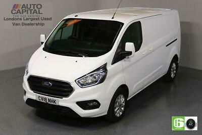 2018 Ford Transit Custom 2.0 300 LIMITED L2 H1 130 BHP EURO 6 ENGINE PANEL VAN D