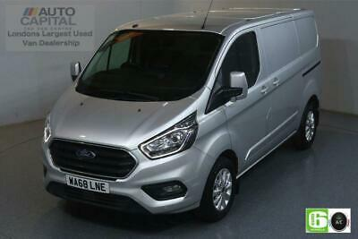 2018 Ford Transit Custom 2.0 300 LIMITED L1 H1 130 BHP EURO 6 ENGINE PANEL VAN D